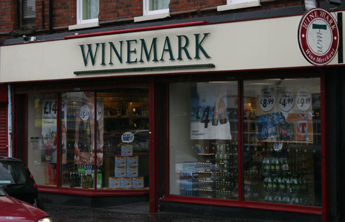 Belmont Winemark Store Front