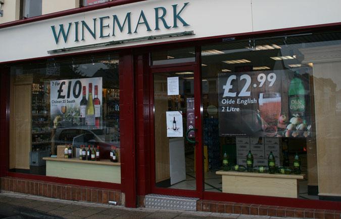 Banbridge Winemark Store Front