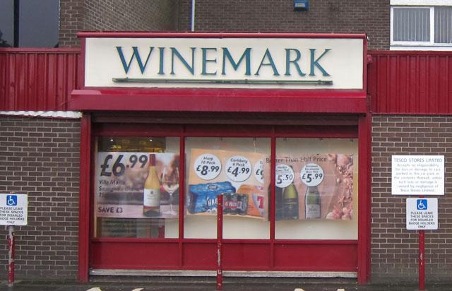 Glengormley Winemark Store Front