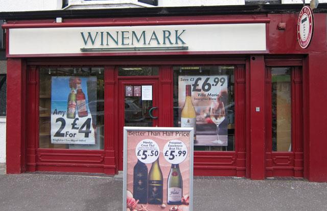 Groomsport Winemark Store Front