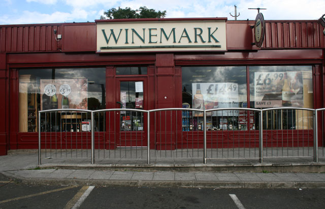 Larne Winemark Store Front
