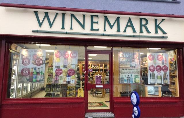 Mallusk Winemark Store Front