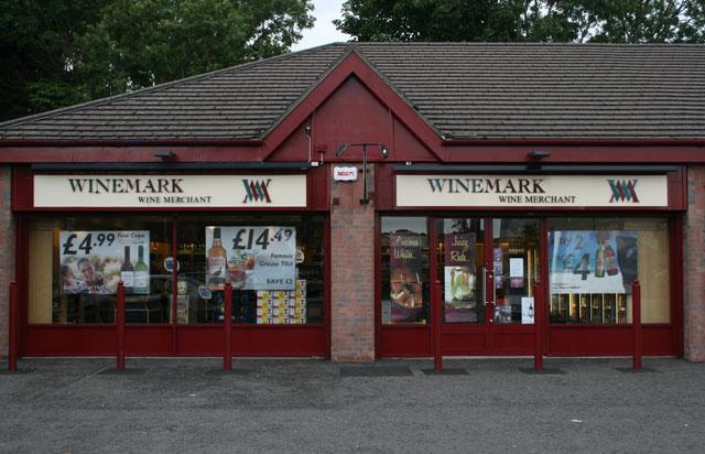Millburn Road Winemark Store Front