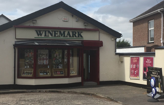 Old Holywood Winemark Store Front