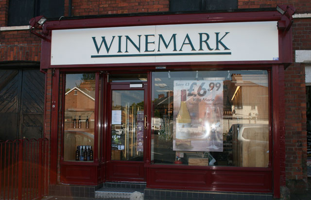 Oldpark Winemark Store Front