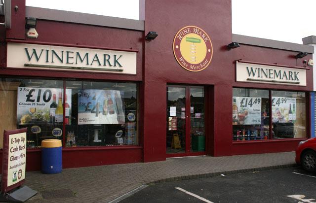 Portrush Winemark Store Front